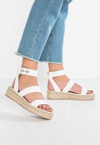 RAID - BELLINI - Platform sandals - white - 0