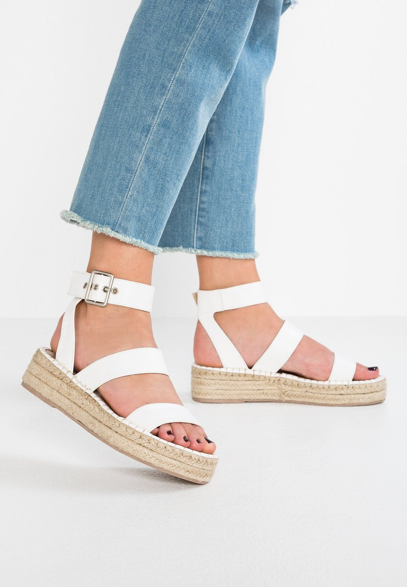 RAID - BELLINI - Platform sandals - white