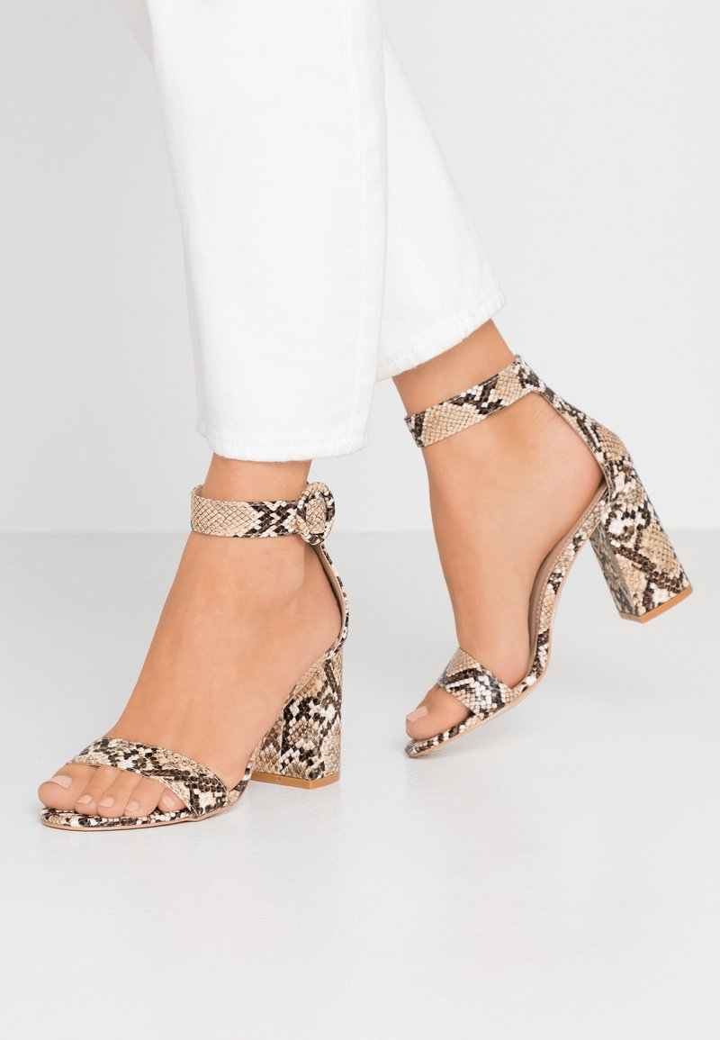 RAID - GENNA - High heeled sandals - stone