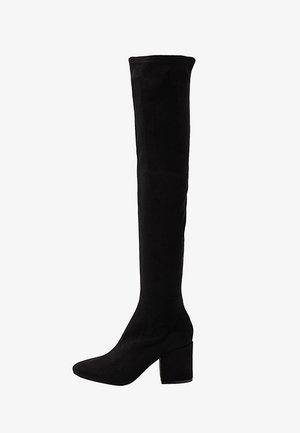 KOLA - Høye støvler - black