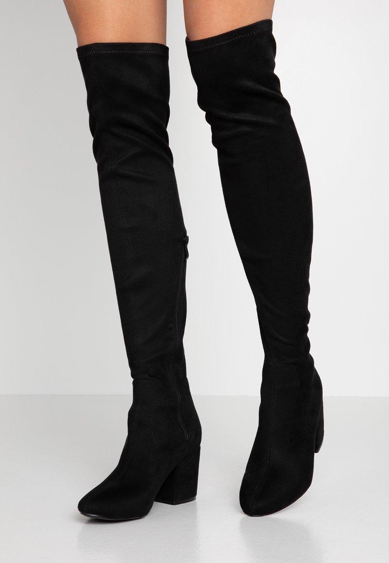 RAID - KOLA - Stivali sopra il ginocchio - black