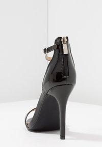 RAID - ANNA - High heeled sandals - black - 5