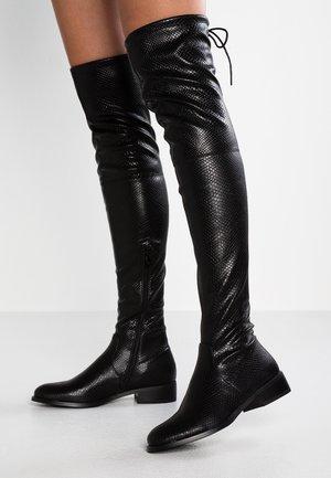 ELLE - Høye støvler - black