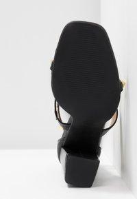 RAID - LIBERTY - Højhælede sandaletter / Højhælede sandaler - black - 6