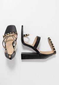 RAID - LIBERTY - Højhælede sandaletter / Højhælede sandaler - black - 3