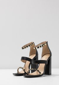 RAID - LIBERTY - Højhælede sandaletter / Højhælede sandaler - black - 4