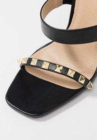 RAID - LIBERTY - Højhælede sandaletter / Højhælede sandaler - black - 2