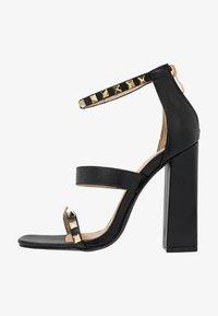 RAID - LIBERTY - Højhælede sandaletter / Højhælede sandaler - black - 1