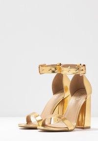 RAID - NARISSA - Sandales à talons hauts - gold - 4