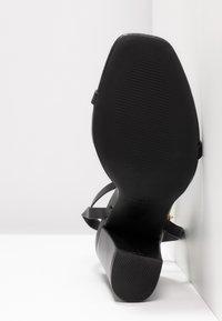 RAID - ANUSHA - Sandály na vysokém podpatku - black - 6