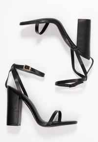 RAID - ANUSHA - Sandály na vysokém podpatku - black - 3