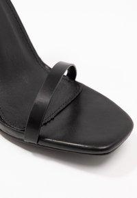 RAID - ANUSHA - Sandály na vysokém podpatku - black - 2