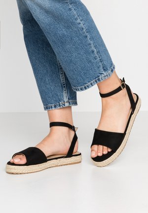 NORA - Platform sandals - black