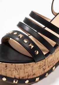 RAID - FALLON - Platform sandals - black - 2