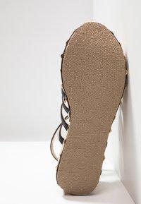 RAID - FALLON - Platform sandals - black - 6