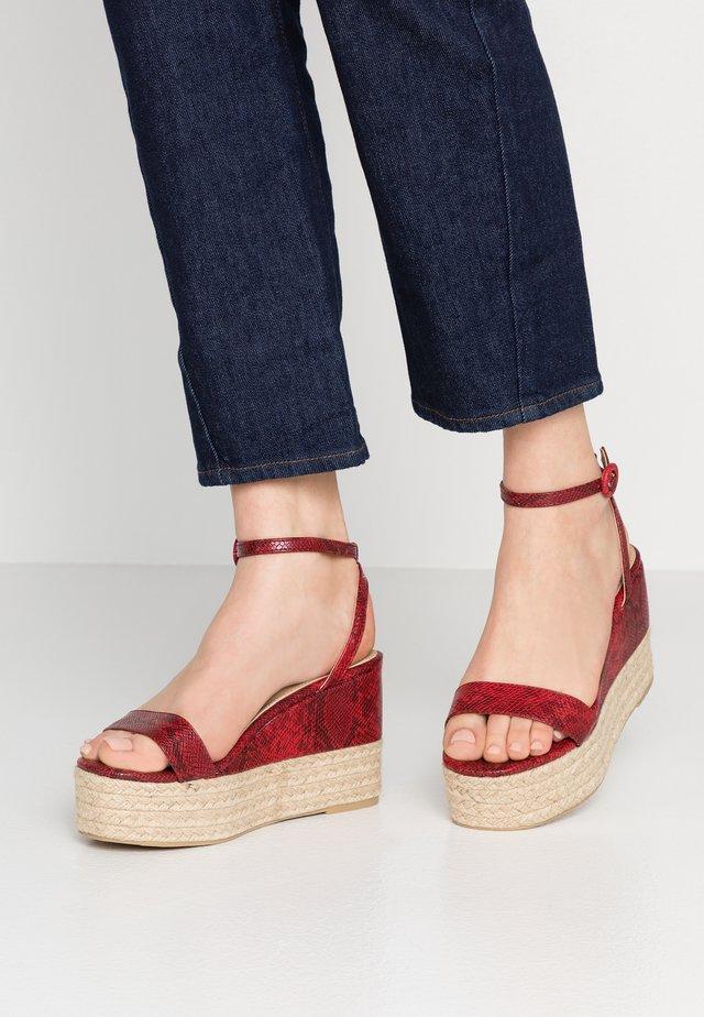 MONICA - Sandaletter - red