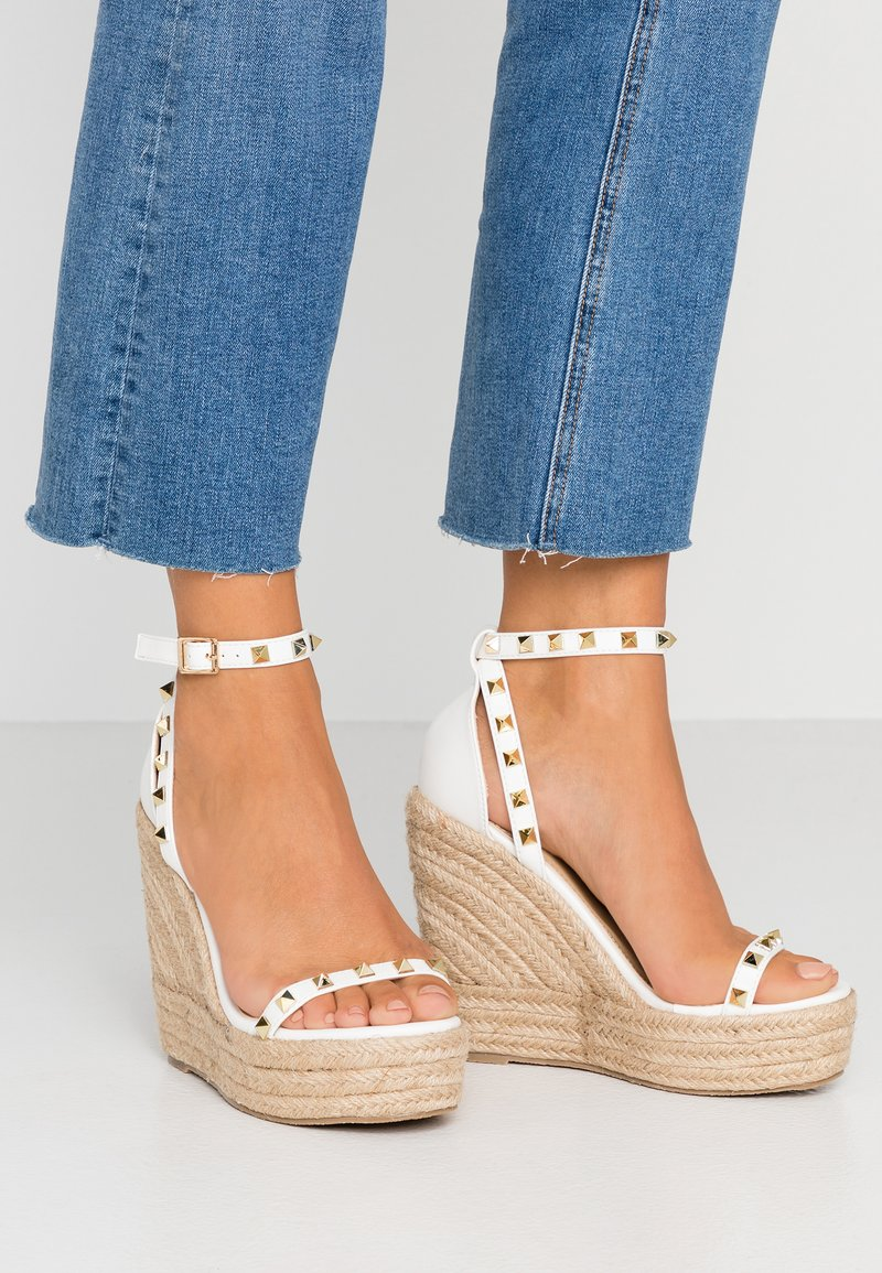 RAID - KORI - High heeled sandals - white