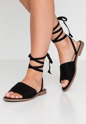LESLIE - Sandals - black