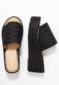 RAID - MELODY - Pantofle na podpatku - black - 3