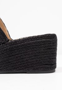 RAID - MELODY - Pantofle na podpatku - black - 2