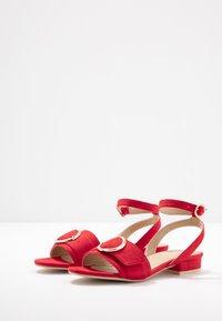 RAID - VALERIA - Sandals - red - 4