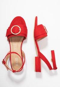 RAID - VALERIA - Sandals - red - 3