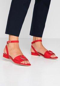 RAID - VALERIA - Sandals - red - 0