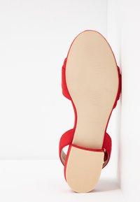 RAID - VALERIA - Sandals - red - 6