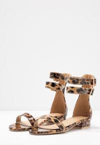 BEBO - TRINITY - Sandals - tan - 2