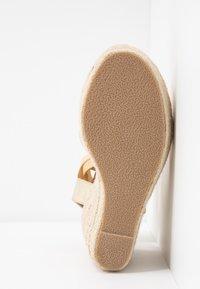 RAID - MARGARET - Højhælede sandaletter / Højhælede sandaler - gold - 6
