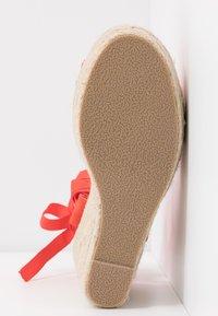 RAID - MARGARET - High heeled sandals - orange - 6