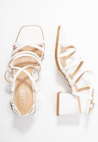 RAID - FABRIZIA - Sandaler - white - 3
