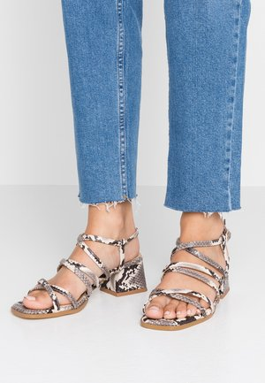 FABRIZIA - Sandals - natural