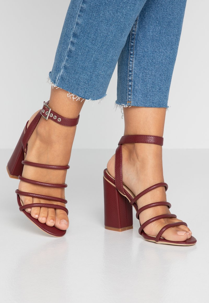RAID - MARY - High heeled sandals - rust