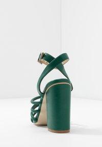 RAID - MARY - Sandály na vysokém podpatku - green - 5