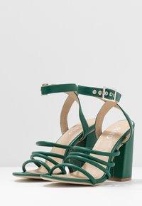 RAID - MARY - Sandály na vysokém podpatku - green - 4