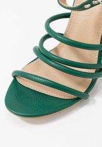 RAID - MARY - Sandály na vysokém podpatku - green - 2