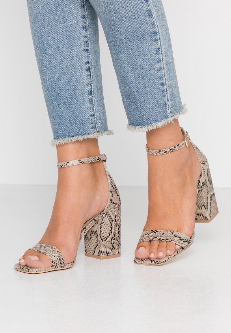 RAID - RAELYNN - High heeled sandals - beige