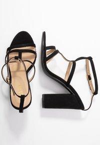 RAID - KYLIE - Sandály na vysokém podpatku - black - 3