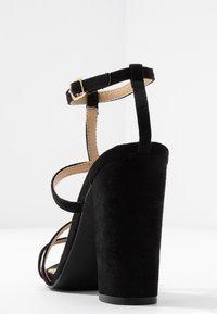 RAID - KYLIE - Sandály na vysokém podpatku - black - 5
