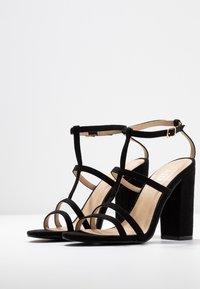 RAID - KYLIE - Sandály na vysokém podpatku - black - 4