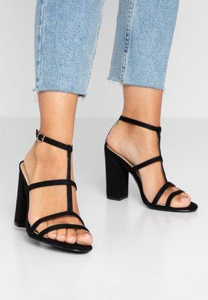 KYLIE - Sandály na vysokém podpatku - black