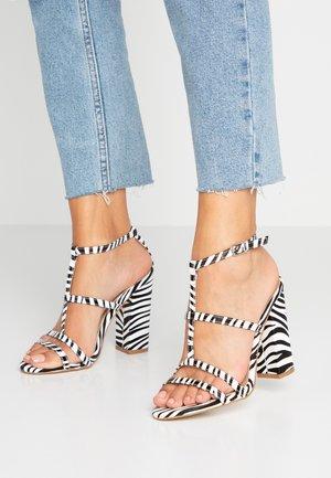 KYLIE - High heeled sandals - black