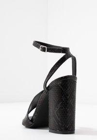 RAID - JADE - Sandály na vysokém podpatku - black - 5