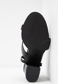 RAID - JADE - Sandály na vysokém podpatku - black - 6