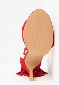 RAID - KATHERINE - Sandales à talons hauts - red - 6