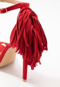 RAID - KATHERINE - Sandales à talons hauts - red - 2