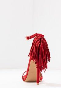 RAID - KATHERINE - Sandales à talons hauts - red - 5