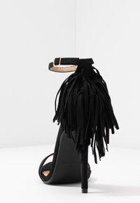 RAID - KATHERINE - Sandales à talons hauts - black - 5