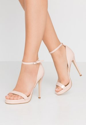 REAGAN - High heeled sandals - nude